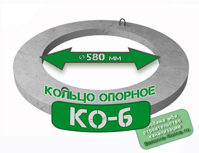 Кольцо опорное КО6